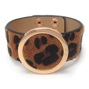 Jewelry - Stylish Animal Print Fur Bracelet